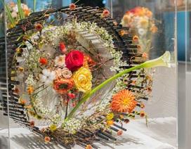"""Ấn tượng triển lãm hoa tươi nghệ thuật """"Thu gọi"""""""