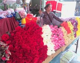Đắt gấp 3 lần, hoa hồng ngày Valentine mua nhiều cũng không dám hứa trước