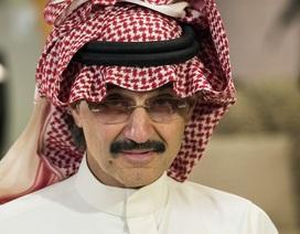 Hoàng tử tỷ phú Ả Rập Xê Út bị bắt vì tham nhũng