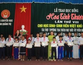 Quảng Trị: Trao hàng trăm suất học bổng tình thương đến học sinh, sinh viên nghèo