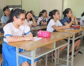 Sáng nay, hơn 3.800 học sinh khảo sát năng lực vào lớp 6 trường Trần Đại Nghĩa