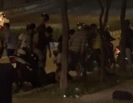 Hỗn chiến sau va chạm giao thông, 3 người bị thương