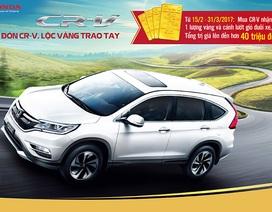 Honda Việt Nam ưu đãi 45 triệu đồng cho CR-V