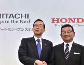 Honda và Hitachi hợp tác sản xuất mô-tơ điện cho ô tô
