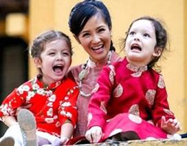 """Diva Hồng Nhung: """"Các con tôi không có năng khiếu âm nhạc"""""""