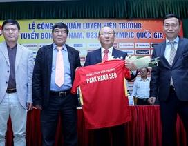 """HLV Park Hang Seo: """"Tôi sẽ đưa bóng đá Việt Nam vào top 100 thế giới"""""""