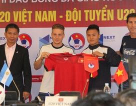 """U20 Argentina khó trở thành """"thuốc thử chất lượng"""" với U20 Việt Nam"""