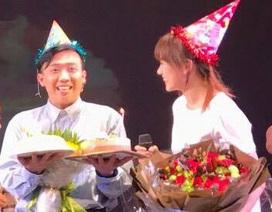 Hari Won thể hiện sự hài hước mừng sinh nhật ông xã Trấn Thành