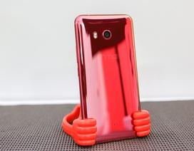 Đập hộp HTC U11 màu đỏ mặt trời chính hãng tại Việt Nam
