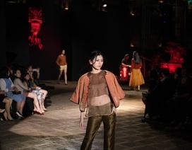 NTK Xuân Thu đưa màu phù sa đồng bằng Bắc bộ vào áo dài, áo bông