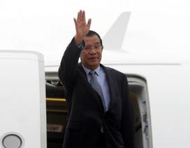 Thủ tướng Campuchia tới Trung Quốc tìm viện trợ