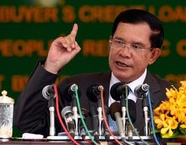 Thủ tướng Hun Sen thách thức Mỹ cắt viện trợ Campuchia