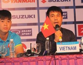 """HLV Hữu Thắng mong U22 Việt Nam không """"thử kêu, đốt xịt"""""""