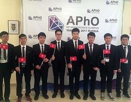 Việt Nam đoạt Huy chương vàng Olympic Vật lí Châu Á