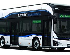 Hyundai giới thiệu mẫu xe buýt chạy hoàn toàn bằng điện