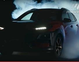 Hyundai hé lộ thêm hình ảnh của tân binh Kona 2018