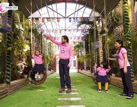Ngôi trường đáng mơ ước của trẻ mầm non tại Hà Nội