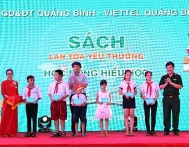 Đón Trung Thu, các bạn nhỏ Quảng Bình có thêm hàng trăm tủ sách, hàng ngàn đầu sách