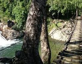 Cứu con trai trượt chân rơi xuống suối, bố bị nước cuốn dẫn đến tử vong