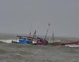 Chìm tàu cá, 3 người được cứu sống, 1 người mất tích