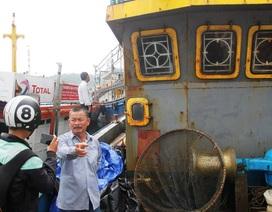 Vụ tàu vỏ thép hư hỏng: Đủ điều kiện xử lý hình sự?