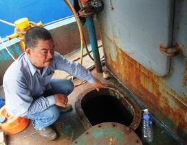 Tàu vỏ thép liên tiếp hỏng: Bộ Nông nghiệp yêu cầu kiểm tra, giám sát cơ sở đóng tàu
