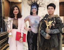Đại diện Việt Nam đoạt giải nhì cuộc thi hoá trang tại Trung Quốc