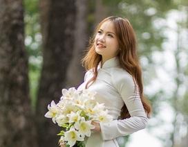 Nữ sinh Quảng Bình xinh xắn ước mơ làm cô giáo