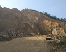 """Vụ """"hô biến"""" hàng triệu m3 đất: Dừng thi công dự án chống sạt lở"""