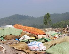Hàng trăm hộ dân kêu cứu vì khói độc từ bãi rác