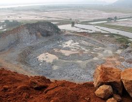 """Phát hiện nhiều sai phạm tại mỏ đá đang """"băm nát"""" ngọn Sư Tử"""