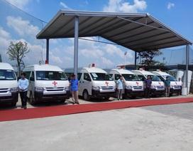 APT bàn giao lô xe cứu thương trị giá 55 tỷ cho Bộ Y tế