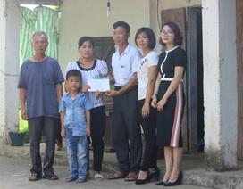 Hơn 30 triệu đồng đến với gia đình chị Nguyễn Thị Lý