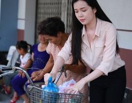 Hoa khôi sinh viên Cần Thơ trích tiền lương hỗ trợ người nghèo đón Tết
