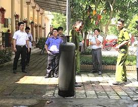 Bình gas trường mầm non bốc cháy, cả trăm học sinh phải sơ tán khẩn cấp