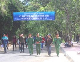 Đại học Đà Lạt dự kiến tuyển sinh 3.200 chỉ tiêu năm 2017