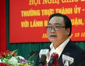 """Bí thư Hà Nội cảm ơn người dân đồng thuận """"giải phóng"""" vỉa hè"""