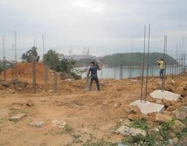 Cận cảnh 40 móng biệt thự không phép trên bán đảo Sơn Trà
