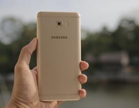 Trên tay Galaxy C9 Pro tại Việt Nam, giá khoảng 12 triệu đồng