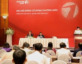 ĐHCĐ Maritime Bank: Cổ đông nhất trí đề xuất trả cổ tức 5%