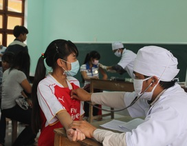 Quảng Nam: Dịch bệnh bạch hầu đã được kiểm soát tốt