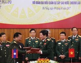 Bộ trưởng Bộ Quốc phòng Lào thăm Việt Nam
