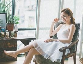 Hoa khôi Vũ Thanh Tú ngọt ngào ngày Phụ nữ Việt Nam 20/10