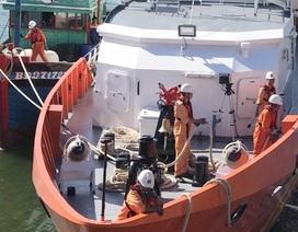 Vượt 170 hải lý cứu 3 ngư dân gặp nạn trên biển