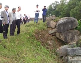 Giải pháp khắc phục sự cố sạt lở tường Thành Nhà Hồ