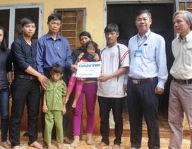 Hơn 73 triệu đồng đến với gia đình có 2 con bị khuyết tật