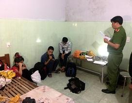 """Bắt ổ ma túy ở """"thủ phủ vàng Phước Sơn"""""""