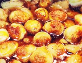 Trứng cút kho nước dừa, ngũ vị hương