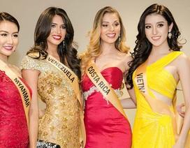 Huyền My nổi bật giữa 80 thí sinh Miss Grand International 2017