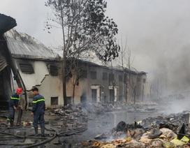 Vụ cháy cơ sở sản xuất bánh kẹo: Hỗ trợ tối đa cho người lao động
